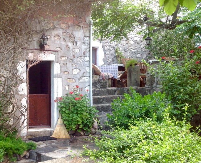 The old Stone cottage at Gokcebel