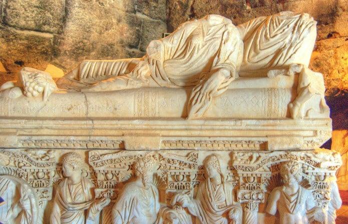 Pamukkale Hierapolis Archology Museum