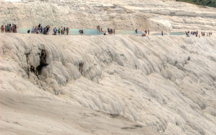 Pamukkale And Hierapolis Ancient City Museum And Hot Springs