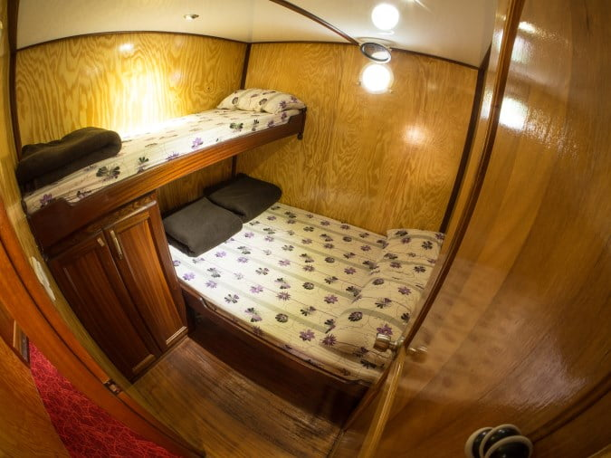 Cabin on a Blue Cruise