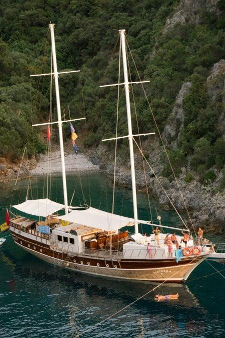 Gulet Boat of Turkey