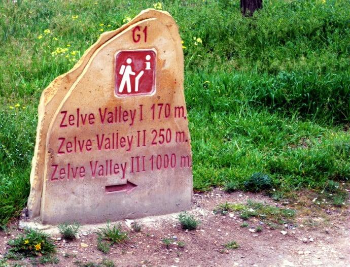 Zelve Valley Cappadocia Turkey