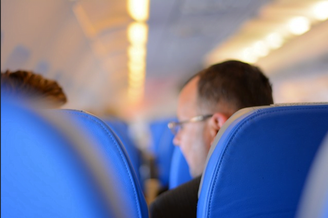 How to behave on a plane