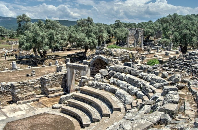 Theatre at Iasos Turkey