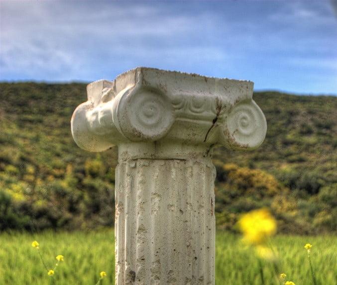 Miletus ancient sacred path