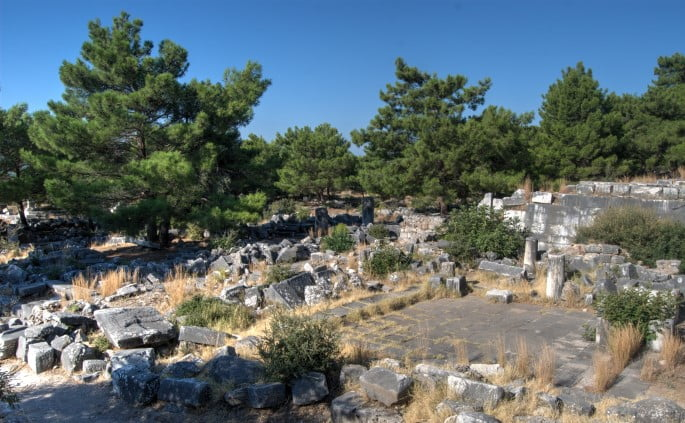 Priene ancient city