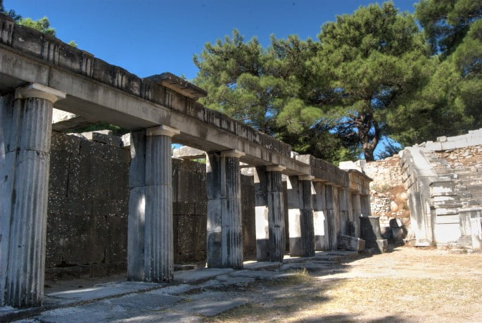 Ruins of Priene Theatre
