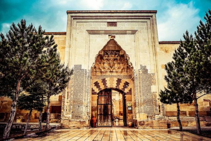 Saruhan Caravanserai of Cappadocia Turkey