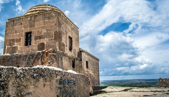 Yuksek monastery and church Cappadocia