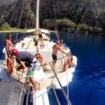 Sailing the Olympos to Fethiye Blue Cruise Route