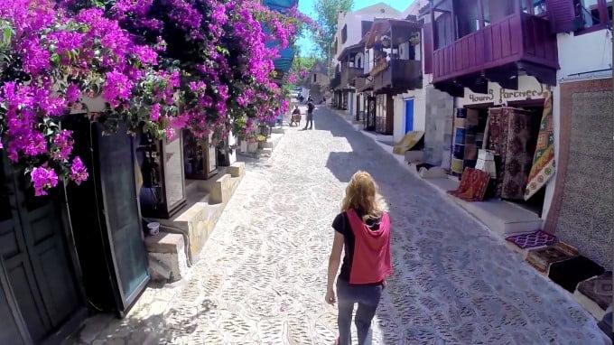 Visiting Kas in Turkey
