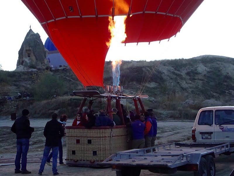 Cappadocia turkey balloons