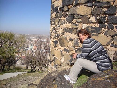 Nevsehir castle In Cappadocia, Turkey