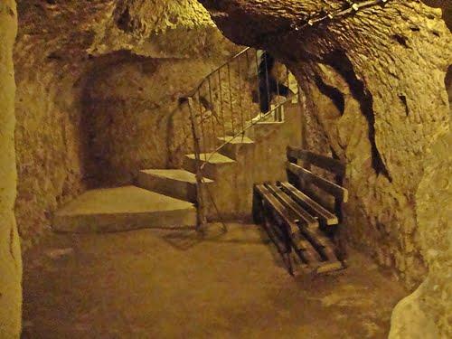 derinkuyu caves cappadocia