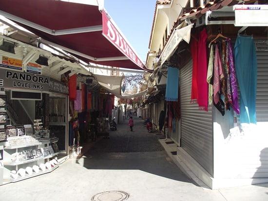 Shopping in kusadasi