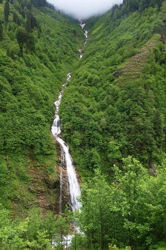 Waterfall Black sea