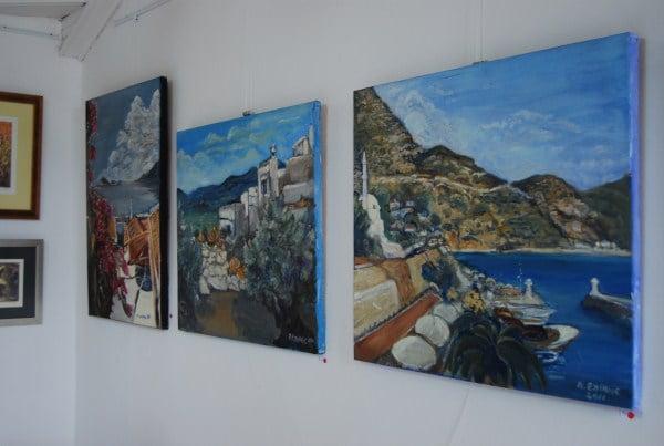 Art galleries in Kalkan