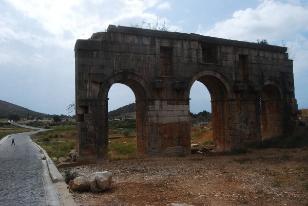 Patara marble arch
