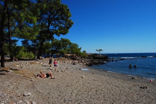 Beach at Phaselis