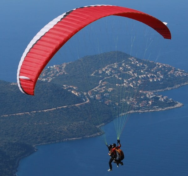Paragliding in turkey