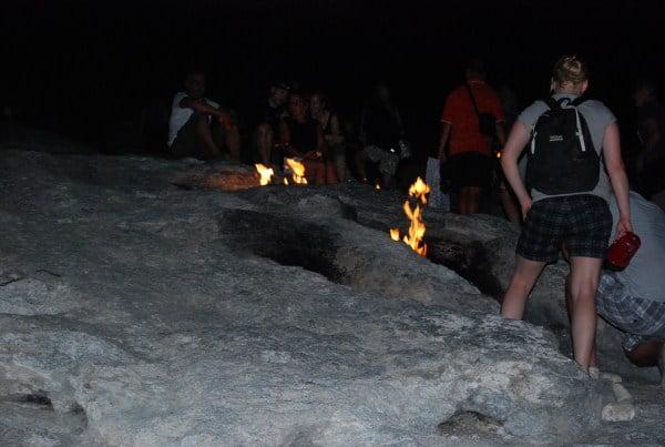 Chimeara burning stones