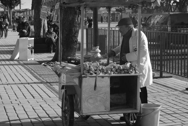 اسطنبول شارع الغذاء