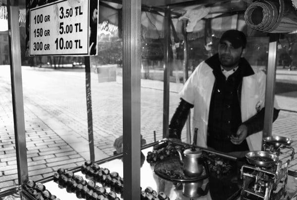 طعام الشوارع تركيا