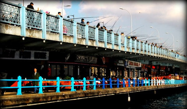 Fishermen of Galata Bridge