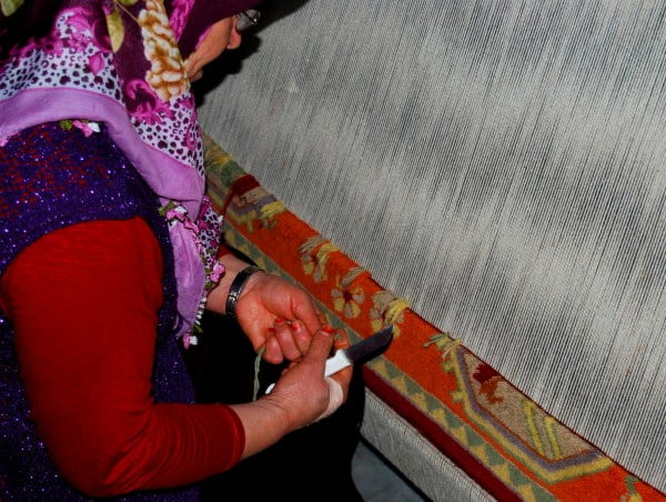 Turkish carpet tradition