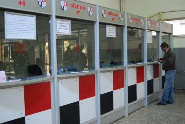 ticket desk