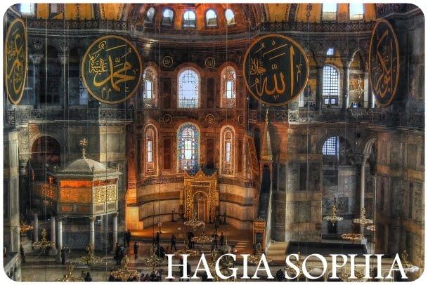 آيا صوفيا من اسطنبول