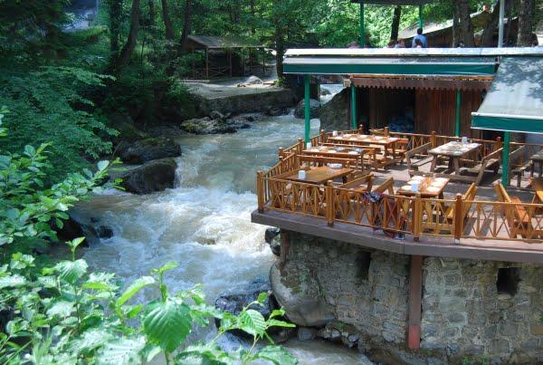 Restaurant near Sumela
