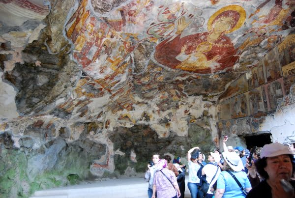 Sumela and frescoes