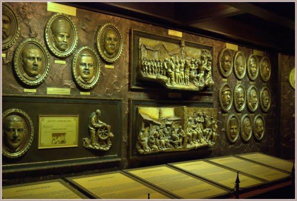 Displays inside Gaziantep