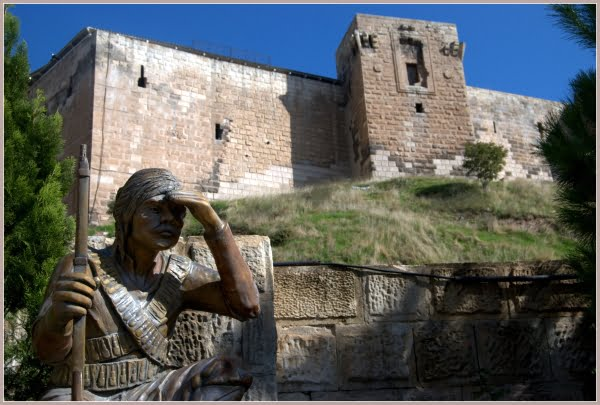 Gaziantep castle in Turkey