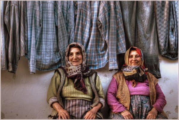 Local turkish women