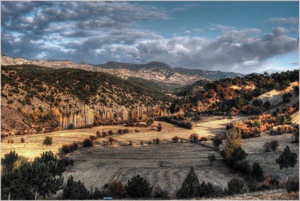 View from Dudas village in beypazari