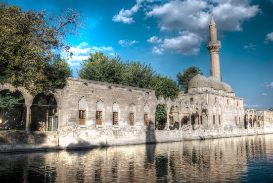 Pool of Abraham in Sanliurfa