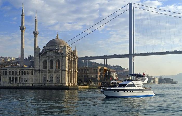 Cruising the Bosphorus