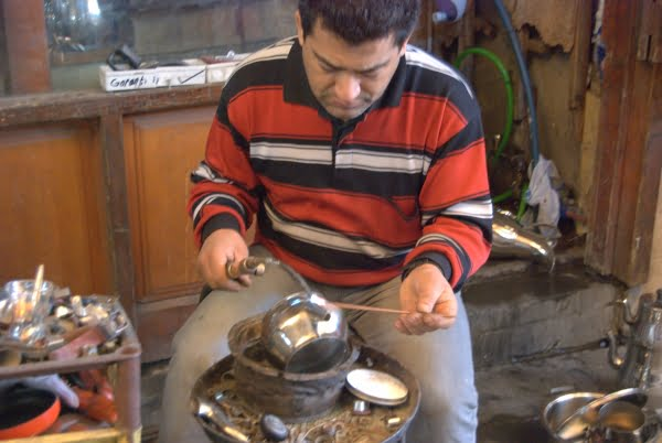 Coppersmith in Gaziantep