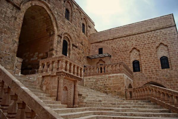 Deyrulzafaran Monastery in Mardin, Turkey