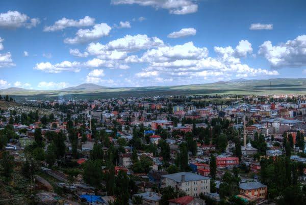 Kars city in Turkey
