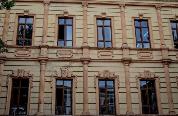 Old Russian building in Kars, Turkey