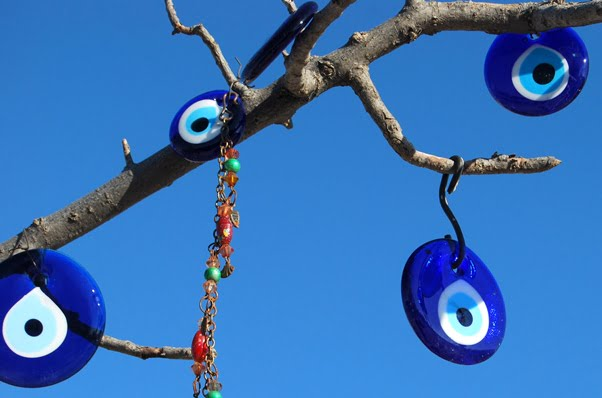 Evil eye tree in Cappadocia