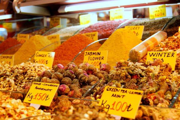 سوق التوابل اسطنبول