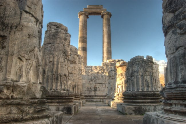 Ancient ruins of Apollo Temple