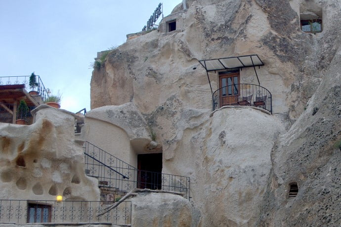 Cave hotel of Goreme