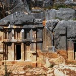 Demre rock tombs