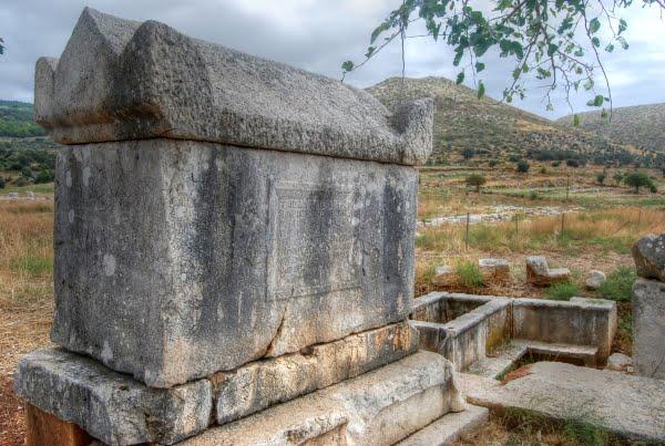 Patara sarcophagi