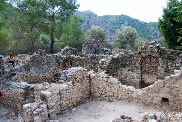 Ruins of Olympus, Turkey